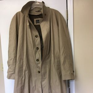 Columbo style Jos Banks vintage tan trenchcoat .